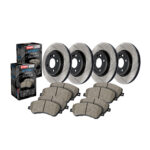 Rear Stoptech 970.62519 Truck Axle Pack Slotted